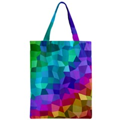 Colorful Multicolored Rainbow Classic Tote Bag by AnjaniArt