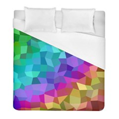 Colorful Multicolored Rainbow Duvet Cover (full/ Double Size) by AnjaniArt