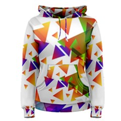 Abstract Triangle Women s Pullover Hoodie
