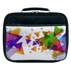 Abstract Triangle Lunch Bag