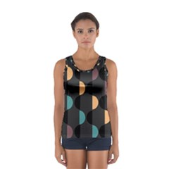 Abstract Background Modern Sport Tank Top  by Jojostore