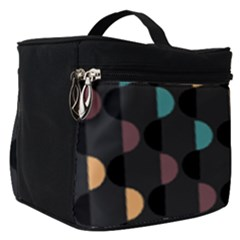 Abstract Background Modern Make Up Travel Bag (small)