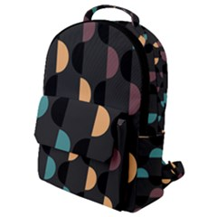 Abstract Background Modern Flap Pocket Backpack (small)
