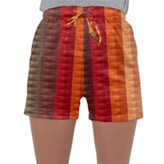 Abstract Pattern Background Plaid Sleepwear Shorts