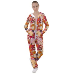 Abstract Line Women s Tracksuit