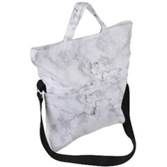 Background Abstract Watercolor White Fold Over Handle Tote Bag by Jojostore