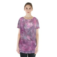 Background Abstract Skirt Hem Sports Top by Jojostore