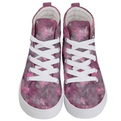 Background Abstract Kids  Hi Top Skate Sneakers