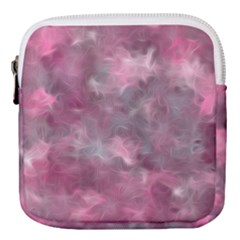 Background Abstract Mini Square Pouch