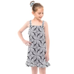 Abstract Seamless Pattern Spiral Kids  Overall Dress by Jojostore