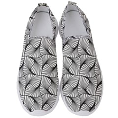 Abstract Seamless Pattern Spiral Men s Slip On Sneakers by Jojostore