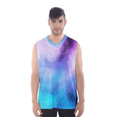 Background Abstract Watercolor Men s Basketball Tank Top