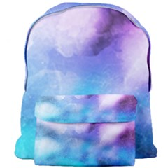 Background Abstract Watercolor Giant Full Print Backpack