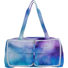 Background Abstract Watercolor Multi Function Bag