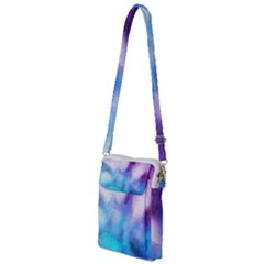 Background Abstract Watercolor Multi Function Travel Bag