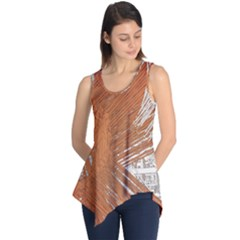 Abstract Lines Background Sleeveless Tunic by Jojostore
