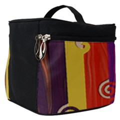 Abstract  Rainbow Make Up Travel Bag (small) by Jojostore