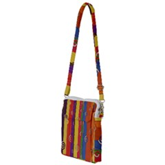 Abstract  Rainbow Multi Function Travel Bag by Jojostore