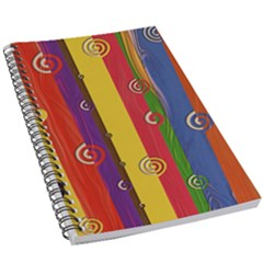 Abstract  Rainbow 5 5  X 8 5  Notebook by Jojostore