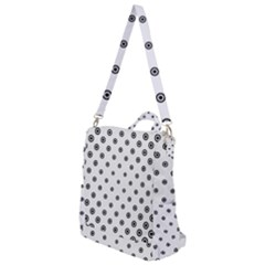 Circle Dot Pattern Dotted Crossbody Backpack