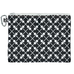 Black Background Arrow Canvas Cosmetic Bag (xxl)