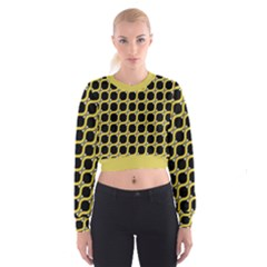 Between Circles Cropped Sweatshirt by TimelessFashion
