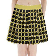 Between Circles Pleated Mini Skirt by TimelessFashion