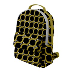 Between Circles Flap Pocket Backpack (large) by TimelessFashion