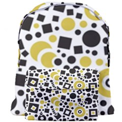 Black Versus Ceylon Yellow  Giant Full Print Backpack