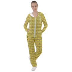 Brick Wall  Women s Tracksuit by TimelessFashion