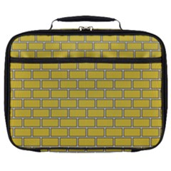 Brick Wall  Full Print Lunch Bag by TimelessFashion