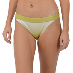 Ceylon Yellow To White  Band Bikini Bottom by TimelessFashion