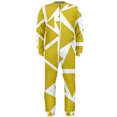 Ceylon Yellow Triangles Onepiece Jumpsuit (men)  by TimelessFashion