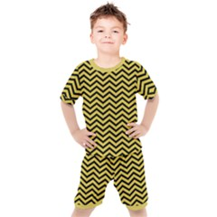 Chevron Effect Kid s Set by TimelessFashion