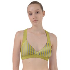Classic Stripes  Sweetheart Sports Bra