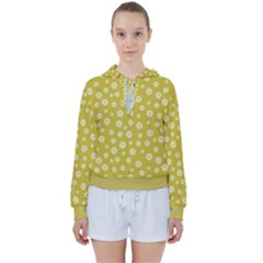 Field Of Daisies  Women s Tie Up Sweat by TimelessFashion