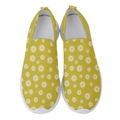 Field Of Daisies  Women s Slip On Sneakers by TimelessFashion