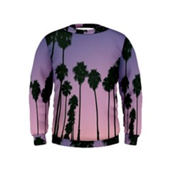 All Over Printed T Shirt  Palm Trees Kids  Sweatshirt