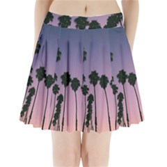 All Over Printed T Shirt  Palm Trees Pleated Mini Skirt by helpmyfuryfriends419