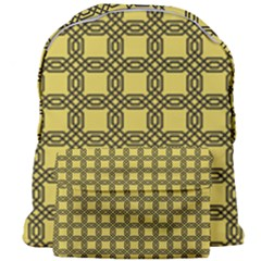 Grid Of Elegance  Giant Full Print Backpack by TimelessFashion
