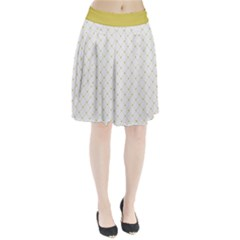 Heart Lines  Pleated Skirt