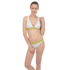 Heart Lines  Classic Banded Bikini Set  by TimelessFashion