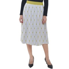 Heart Lines  Classic Velour Midi Skirt  by TimelessFashion