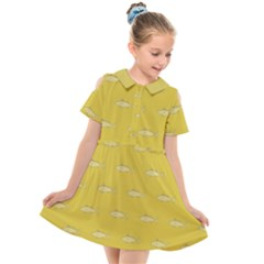 Its Fishy  Kids  Short Sleeve Shirt Dress by TimelessFashion