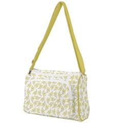 Just Leaves  Front Pocket Crossbody Bag