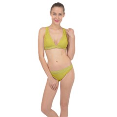 Just Squares  Classic Banded Bikini Set  by TimelessFashion