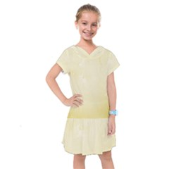 Marble  Kids  Drop Waist Dress