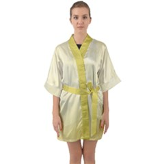 Marble  Quarter Sleeve Kimono Robe by TimelessFashion