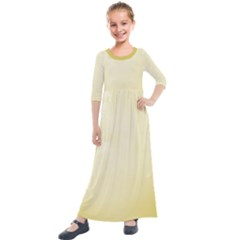 Marble  Kids  Quarter Sleeve Maxi Dress by TimelessFashion