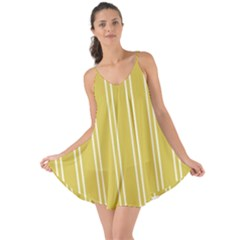 Nice Stripes In Ceylon Yellow And White Love The Sun Cover Up
